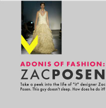 Zac Posen: Adonis of Fashion